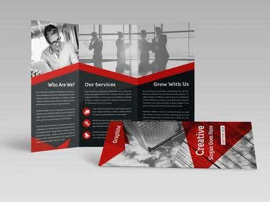 Creative Corporate Trifold Brochure