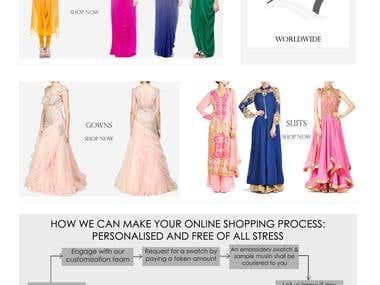Gyans Fashion webstore with Magento