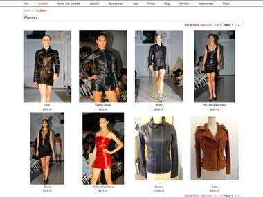 Jonathanalogan Fashion Store with Magento
