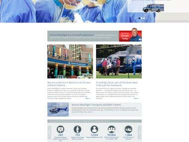 Boston Medflight Website