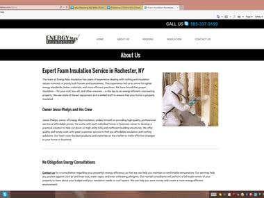 Insulation Site