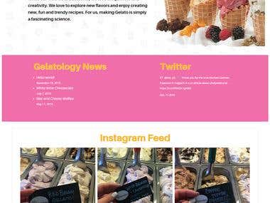 Gelatologylv Restaurant Website