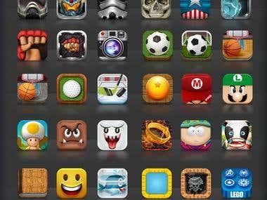Custom Made Icon App Design