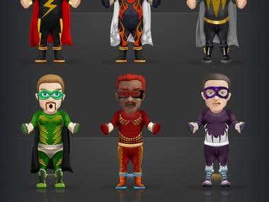 Super Villain Mobile Game App
