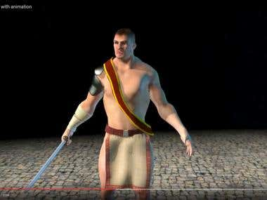 3D model of the Gladiator