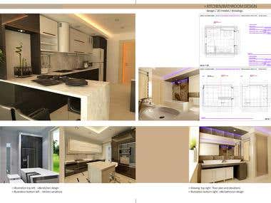 kitchen/bathroom design