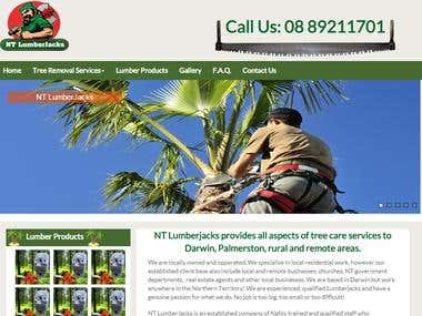 NT Lumberjacks Website