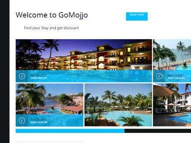 GoMojjo.com - Hotel booking website