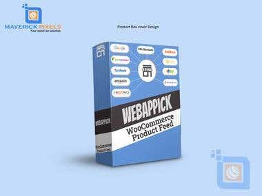 Product box cover design
