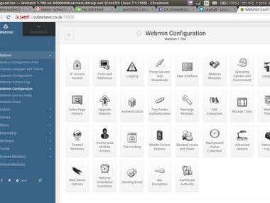 Webmin Configuration Webmin 1.780