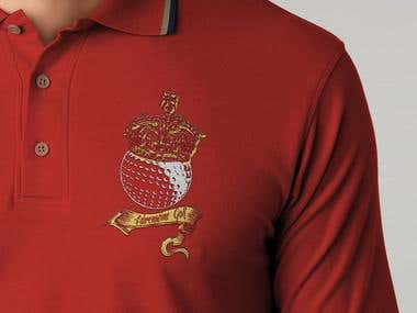 Adrenaline Golf Polo Shirt Design
