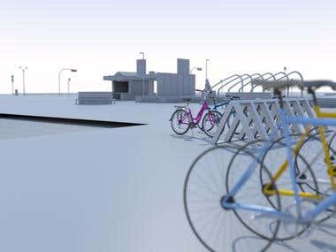 Bicycle renders (side view)