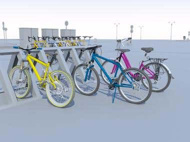 Bicycle renders