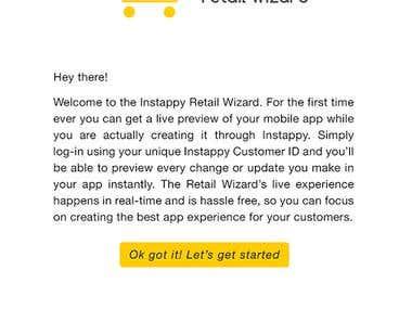 Instappy Retail Wizard