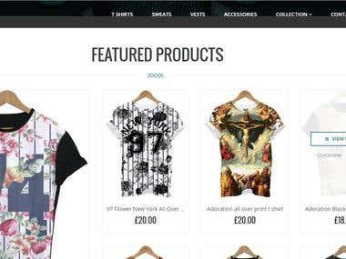 A Shopify Site