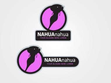 NAHUAnahua Logo design