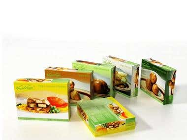 Vegie Vegie Food Packaging Set