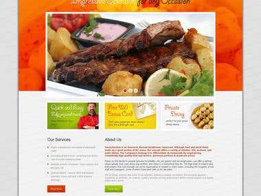 Website Design for Steakjunction