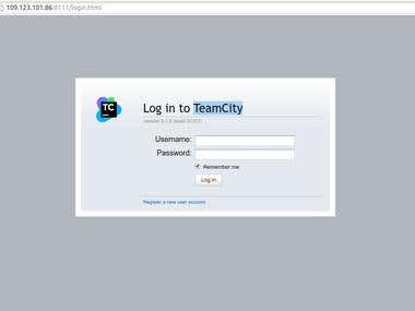 TeamCity installation