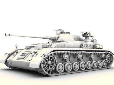 tank modeling