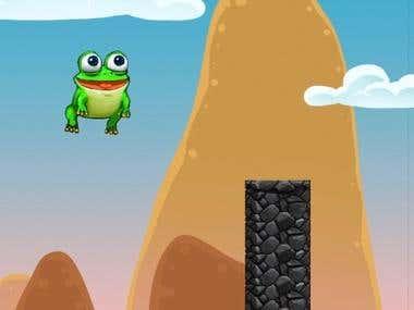 Froggrr Jump