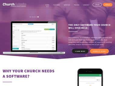ChurchAdmin Portal
