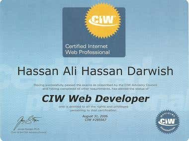 ciw web developer