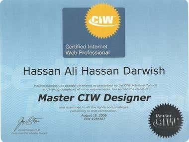 Master CIW Desginer