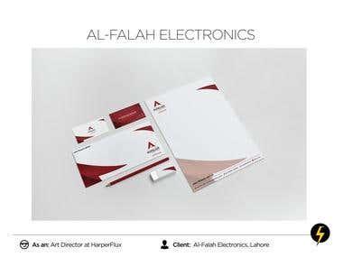 Al-Falah Electronics - Brand Identity Design