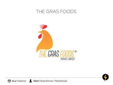 The Grass Foods - Logo & Identity Design