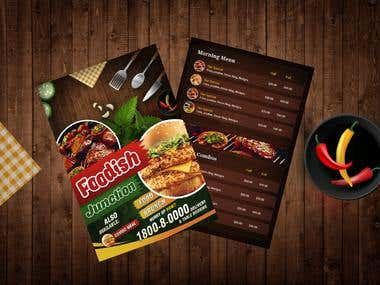 Responsive Restaurant web application