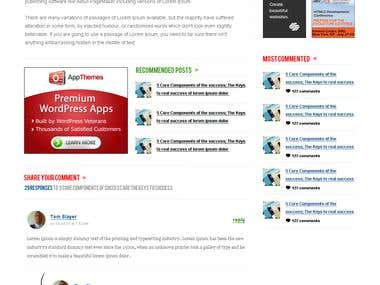 Custom design for Pay per Click blog