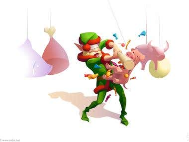 Santa's Elves.