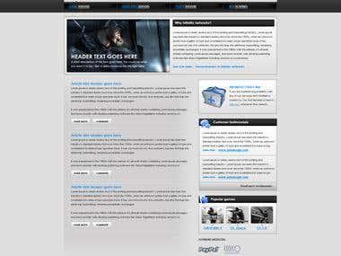 Game server host website