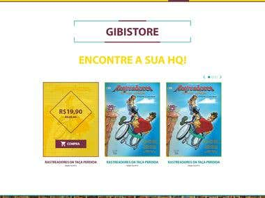 Editora Bila, Site Institucional e E-commerce