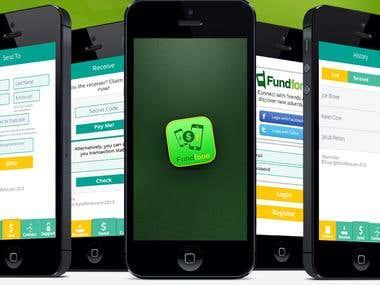 FundFone App (Financial App)