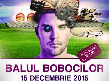 Balul Bobocilor Event - Poster