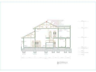CAD example of a house