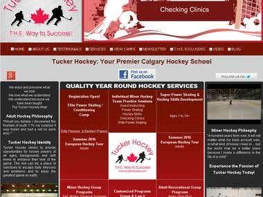 Tucker Hockey - Hockey Schools Calgary