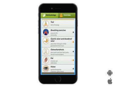Mobile App Heal YourSelf