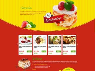 Food Industry Template Design