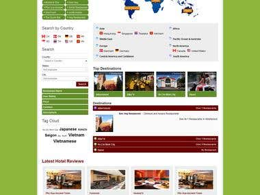 Restaurant Portal in Joomla8