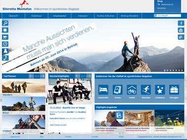 Ski Resort Webservice from biggest Austrian company