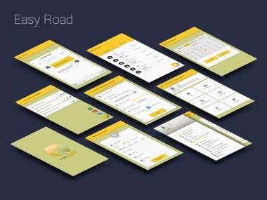 Easy Road App material Design