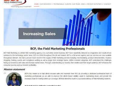 BCP website