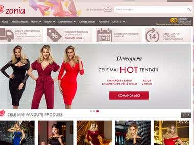 Zonia.ro - magento ecommerce platform