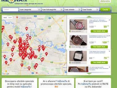 Inzonata.ro - codeigniter based ecommerce platform
