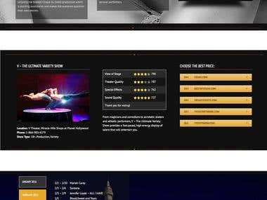 Wordpress web-site, Avada theme