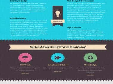 Series Web Designing & Advertising