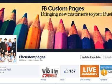 Facebook Fanpage Examples